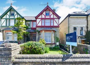 Thumbnail 3 bedroom semi-detached house for sale in Newport Road, Cowes