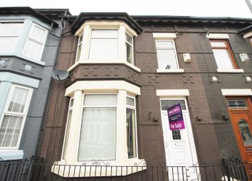 Thumbnail 3 bed terraced house for sale in Thurston Road, Liverpool