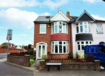 Thumbnail 4 bedroom semi-detached house for sale in Station Road, Portsmouth