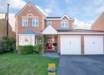 Thumbnail 4 bed detached house for sale in Cornfield Close, Carlton-In-Lindrick, Worksop, Nottinghamshire