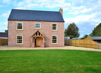 Thumbnail 4 bedroom detached house for sale in Station Road, Hodnet, Market Drayton