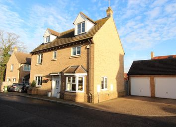 Thumbnail 4 bed detached house for sale in Gunn Close, Rayleigh, Essex