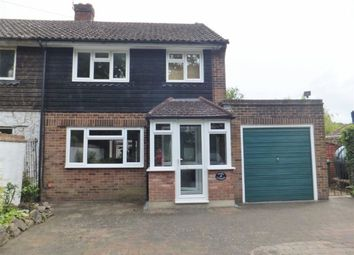 Thumbnail 3 bed semi-detached house to rent in Coopers Corner, Ide Hill, Sevenoaks