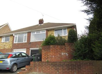 Thumbnail 2 bed semi-detached bungalow to rent in Frederick Road, Hastings