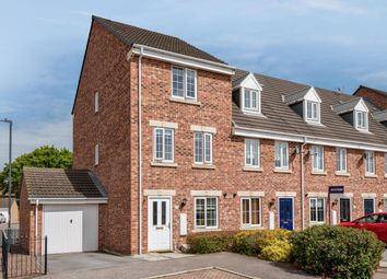 Thumbnail 4 bed end terrace house for sale in Castle Row, Brayton, Selby