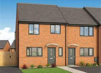 Thumbnail 3 bed semi-detached house for sale in The Bay, Plot 213 Roman Fields, Manor Drive, Gunthorpe, Peterborough
