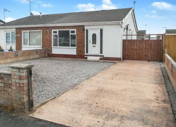 Thumbnail 2 bed semi-detached bungalow for sale in Towyn Way West, Towyn, Conwy
