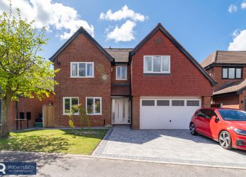 Thumbnail 4 bed detached house for sale in Newlands Avenue, Penwortham, Preston