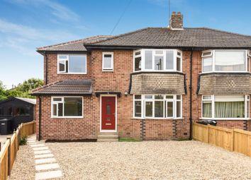 Thumbnail 5 bed semi-detached house for sale in Bilton Close, Harrogate