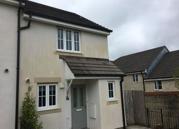 Thumbnail 2 bed end terrace house to rent in Lady Fern Road, Roborough, Plymouth