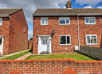 Thumbnail 3 bedroom semi-detached house for sale in Ashfield Crescent, Lowestoft