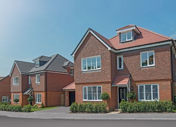 """Thumbnail 5 bed detached house for sale in """"The Bewick"""" at Tile Barn Row, Woolton Hill, Newbury"""