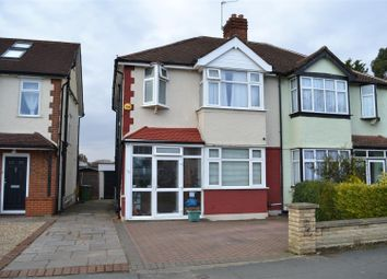 Thumbnail 3 bedroom semi-detached house for sale in Ewell Court Avenue, Ewell, Epsom