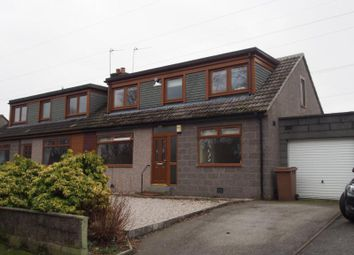 Thumbnail 3 bed semi-detached house to rent in Countesswells Road, Aberdeen