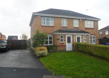 Thumbnail 3 bed semi-detached house to rent in Reedmaker Place, Swinton, Manchester