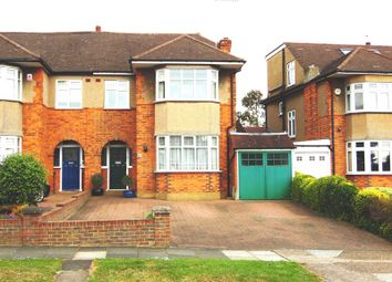 Thumbnail 5 bed semi-detached house to rent in Heddon Court Avenue, Cockfosters, Hertfordshire