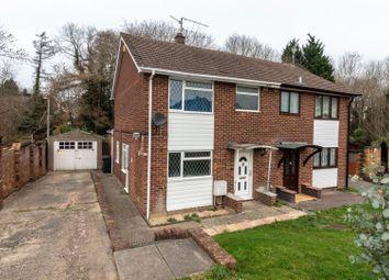 Thumbnail 3 bed semi-detached house for sale in Stoneham Close, Tilehurst, Reading