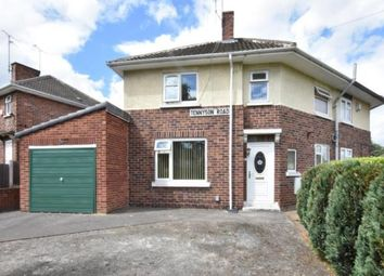 Thumbnail 2 bed semi-detached house for sale in Tennyson Road, Rotherham, South Yorkshire