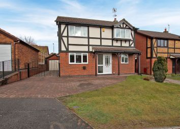 Thumbnail 4 bed detached house for sale in Stewarton Close, Arnold, Nottingham