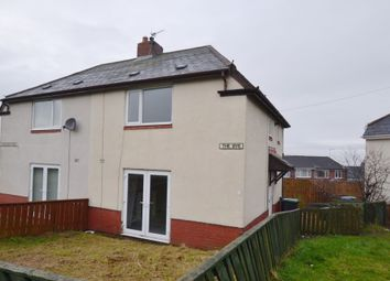 Thumbnail 2 bed semi-detached house to rent in The Bye, Consett