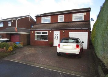 Thumbnail 4 bed detached house for sale in Whitecroft Avenue, Shaw, Oldham