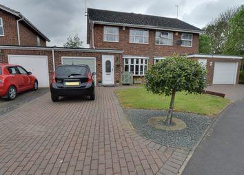 Thumbnail 3 bedroom semi-detached house for sale in Weatherthorn, Orton Malborne, Peterborough, Cambridgeshire