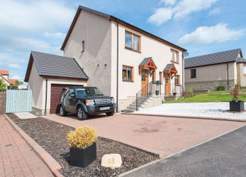 Thumbnail 3 bed semi-detached house for sale in Coronation Avenue, Scone