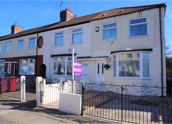 Thumbnail 3 bedroom end terrace house for sale in Gentwood Road, Liverpool