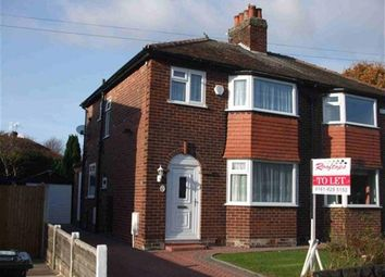 Thumbnail 3 bedroom semi-detached house to rent in Elm Ridge Drive, Hale Barns, Altrincham