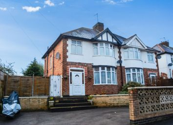 Thumbnail 3 bed semi-detached house for sale in Church Street, Oadby, Leicester