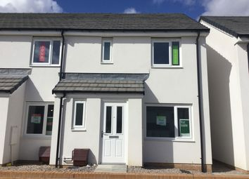 "Thumbnail 3 bed end terrace house for sale in ""The Hanbury"" at Cornflower Walk, Plymouth"