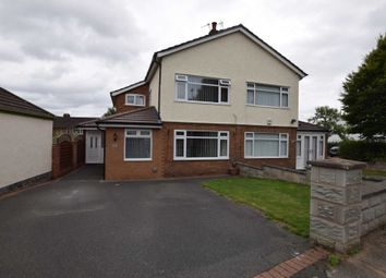 Thumbnail 3 bed semi-detached house for sale in Kingsway, Bebington, Wirral