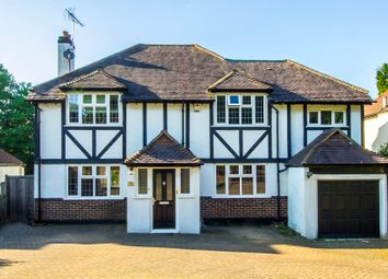 Thumbnail 4 bed detached house for sale in Grove Wood Hill, Coulsdon