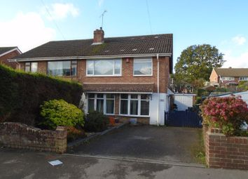 Thumbnail 4 bed semi-detached house for sale in Miller Drive, Fareham