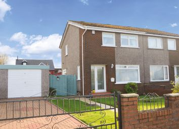 Thumbnail 3 bed semi-detached house for sale in Third Avenue, Alexandria, West Dunbartonshire