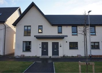 Thumbnail 3 bedroom end terrace house to rent in Craw Yard Drive, Edinburgh