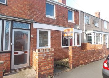 Thumbnail 2 bed terraced house to rent in Glassey Terrace, Bedlington
