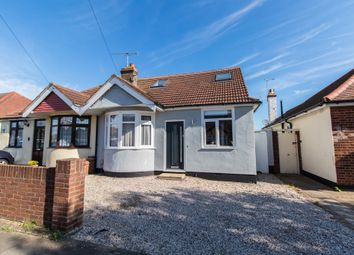 Thumbnail 4 bed semi-detached bungalow for sale in North Crescent, Southend-On-Sea