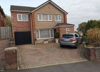 Thumbnail 4 bed detached house for sale in Meadvale Road, Rumney, Cardiff