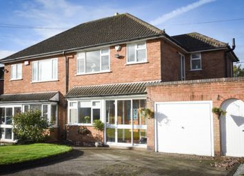 Thumbnail 3 bed semi-detached house for sale in Bedford Drive, Sutton Coldfield