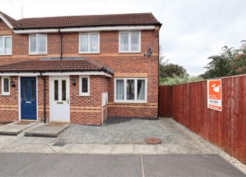 Thumbnail 2 bedroom terraced house for sale in Harricot Close, Lincoln