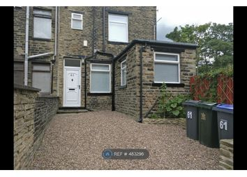 Thumbnail 2 bed end terrace house to rent in Back Cavendish Road, Bradford