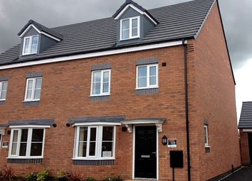"Thumbnail 4 bedroom semi-detached house for sale in ""The Leicester "" at Fellows Close, Weldon, Corby"