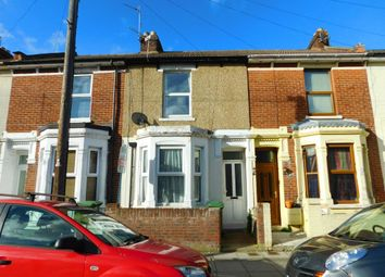 Thumbnail 3 bed terraced house for sale in Grayshott Road, Southsea