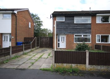 Thumbnail 3 bed semi-detached house to rent in Burghley Way, Ince, Wigan