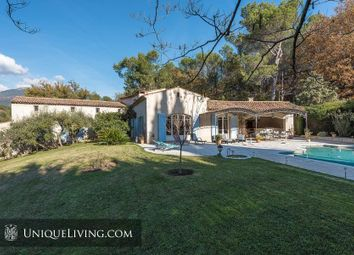 Thumbnail 6 bed villa for sale in Le Rouret, Opio, French Riviera