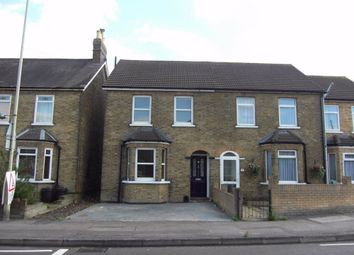 Thumbnail 4 bed end terrace house to rent in Longfield Lane, West Cheshunt, Hertfordshire
