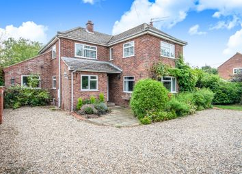 Thumbnail 3 bed detached house for sale in Bridge Road, Colby, Norwich
