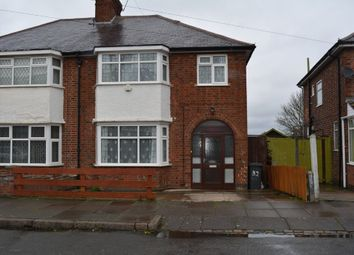 Thumbnail 3 bed semi-detached house for sale in Homeway Road, Evington, Leicester
