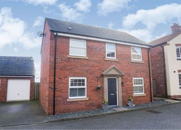 Thumbnail 4 bed detached house for sale in Poppy Road, Witham St Hughs